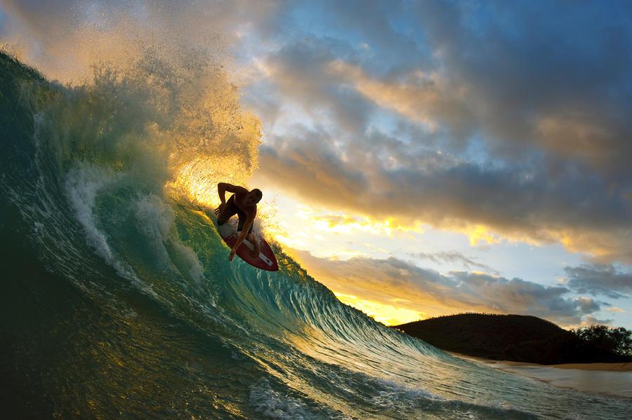 skimboarding-at-sunset-ii-quincy-dein